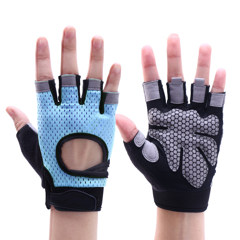 Customized Logo Available Workout Fitness weight lifting Gym Gloves