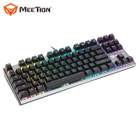 MEETION MT-MK04 Discount Wholesale Supply Spanish Light Backlight Mini Game Keyboards