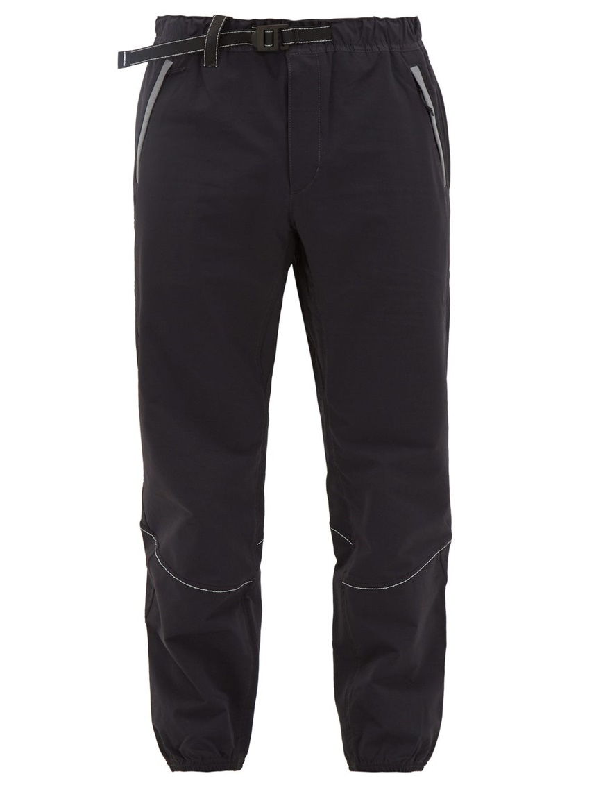Drawstring 3M Piping Lightweight Technical Track Pants Men