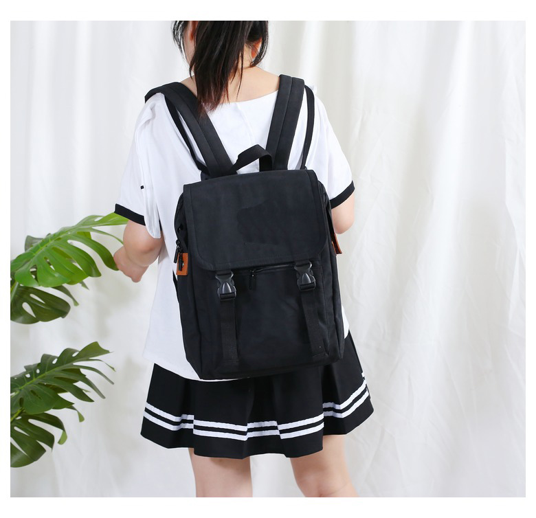 product-GF bags-mochilas 2020 Korean Canvas Women Gray BackpackKawaii Travel School Bag Pack for Tee-1
