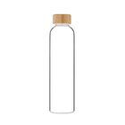Nature Bamboo Eco-Friendly Glass Water Bottle with Rope