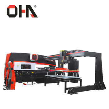 "OHA"" Brand AFM-1250 Hydraulic CNC Turret Punch press/Automatic Hole Punching Machine"