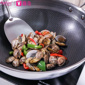 steaming decoting and stir frying pot andre fried pot recommended by German Chef