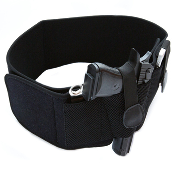 Adjustable Non-Slip Concealed Gun Carry Belly Band Holster