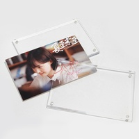 "Wholesale 8x10"", A4 Clear Acrylic Photo Frame With Magnet"