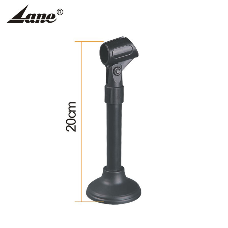 Manufacturer Round Base Desktop Table Microphone Mic Holder Stand with Clip