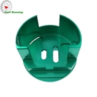 cnc custom milling hardware parts green anodizing aluminum furniture accesory