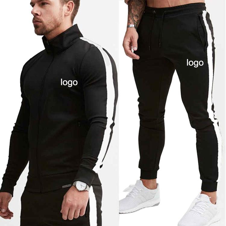 Factory Wholesale Customized Design Running Wear Mens Tech Sweatsuit Sets Training & Jogging Wear