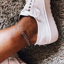 17 км модный набор ножных браслетов с бабочками для женщин DIY Золотая цепочка ножные браслеты 2020 сердце ножной браслет пляжный браслет богем...(Китай)