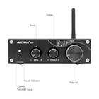 Amplifier Stereo Stereo Amplifier AIYIMA A05 100w X 2 Class D Mini Amplifier TPA3116 2.0 Channel Bluetooth Stereo Amplifier For Home