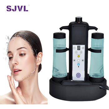 Professional Facial Use Small Bubbles of Hydrogen and Oxygen
