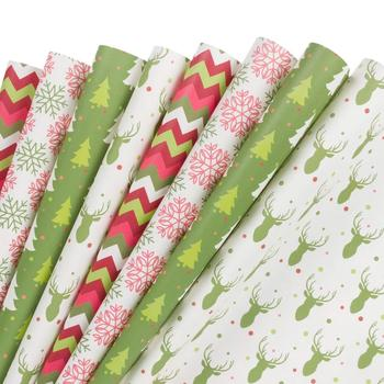 Customize Gift Wrapping Paper Sheet, Christmas Wrapping Paper