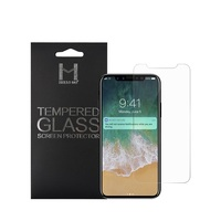 premium 9h 2.5D tempered glass explosion-proof film screen protector for iPhone X