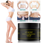 Weight Loss Fat Burning Private Label Natural Organic Sweat Gel Fat Burning Stomach Slimming Cream for Weight Loss Cellulite Removal