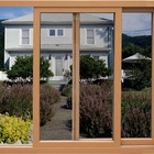 apartment american style heavy duty storm impact sliding windows and champagne aluminum slide track window