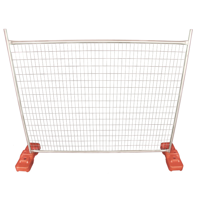 Out door temporary fence stands concrete / temporary fence stands fence panel