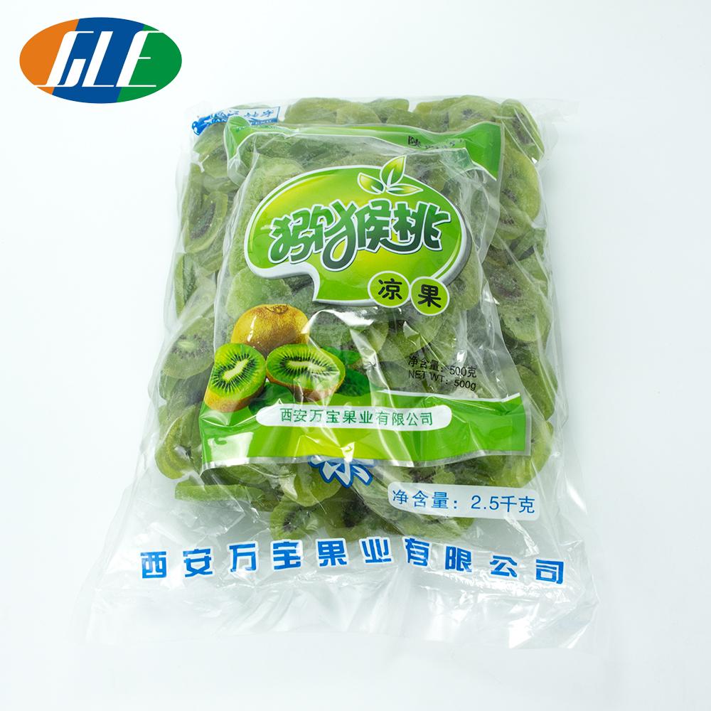 Natural no additive Dried green kiwi fruit