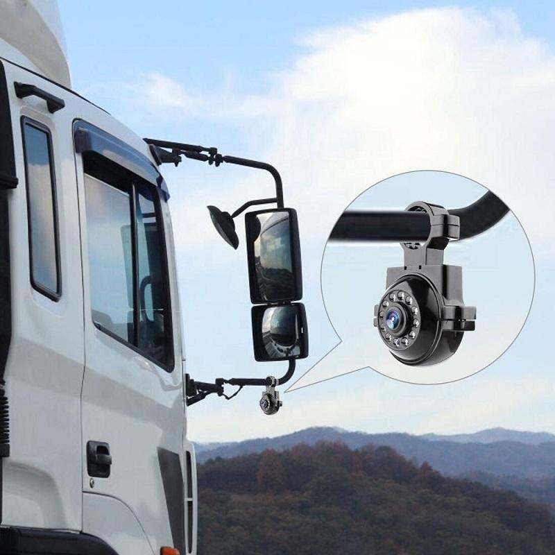 SUNWAN Universal Car Rear View Backup Camera HD Night Vision 360/° Adjustable Parking Assistance for Car RV Caravan Truck Mini Reversing Camera