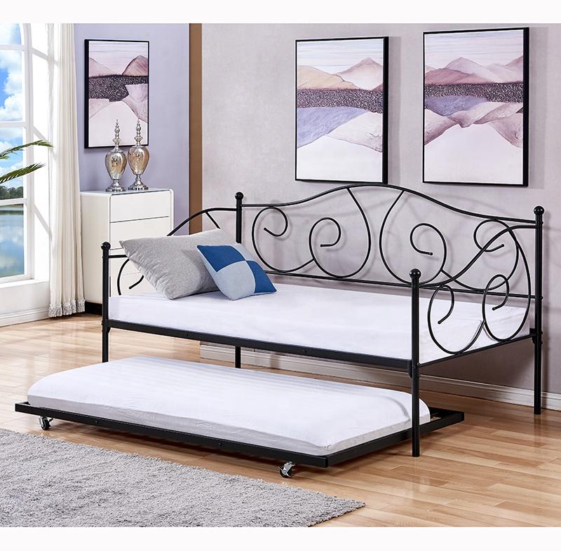 Antico disegno tutti i di ferro in metallo divano letto cum giorno telaio del letto