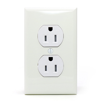 15A conventional American socket outlet duplex American receptacle wall socket switch