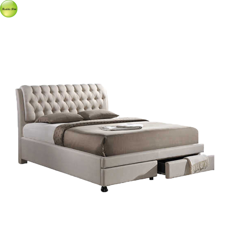 Pictures of double <strong>bed</strong> designs with storage for living room