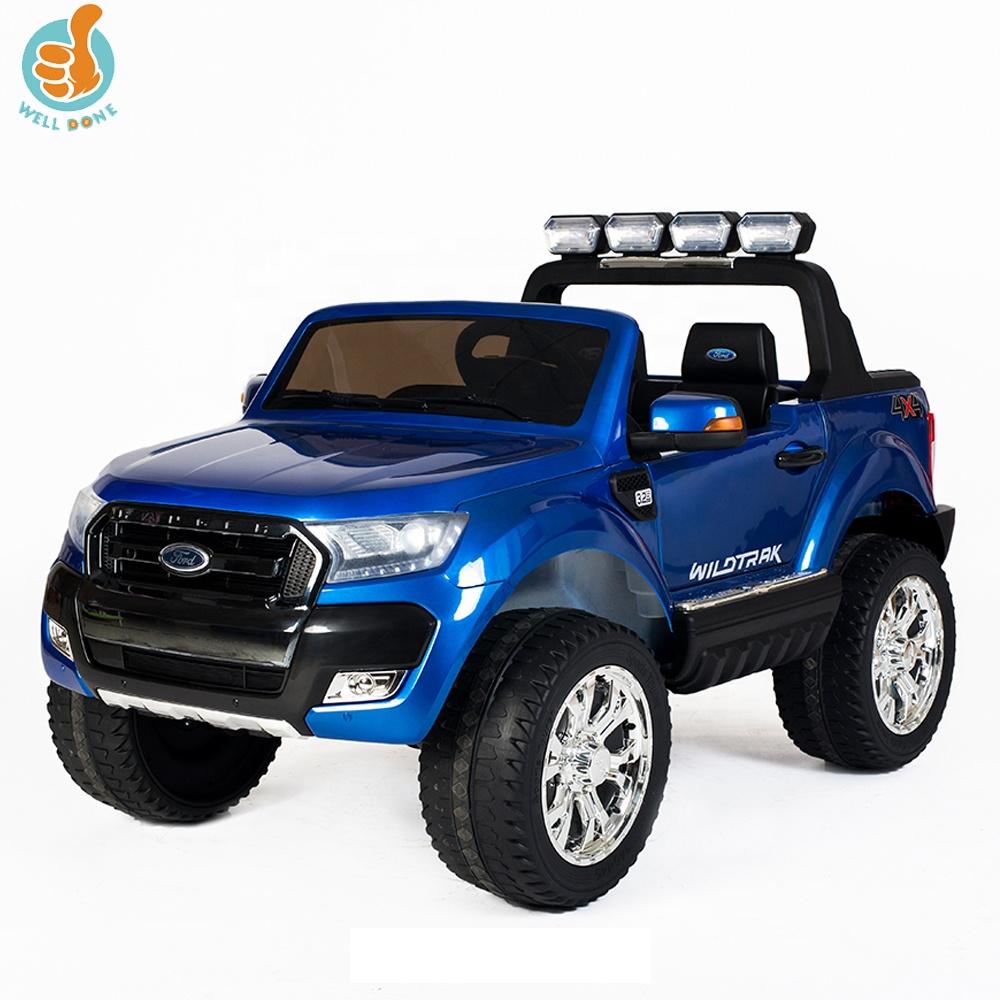 WDDKF650 coche con licencia Ford Ranger Control remoto operado por batería coches para niños