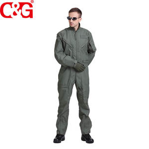 C&G Sage Green Air Force Military Flight Coverall