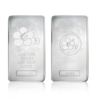 New Design Quick Shipping Custom Arts Crafts .999 Fine Silver One Troy Ounce Bar Bullion For Sale