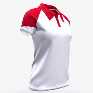 Slim fit white soft breathable sports polo shirts