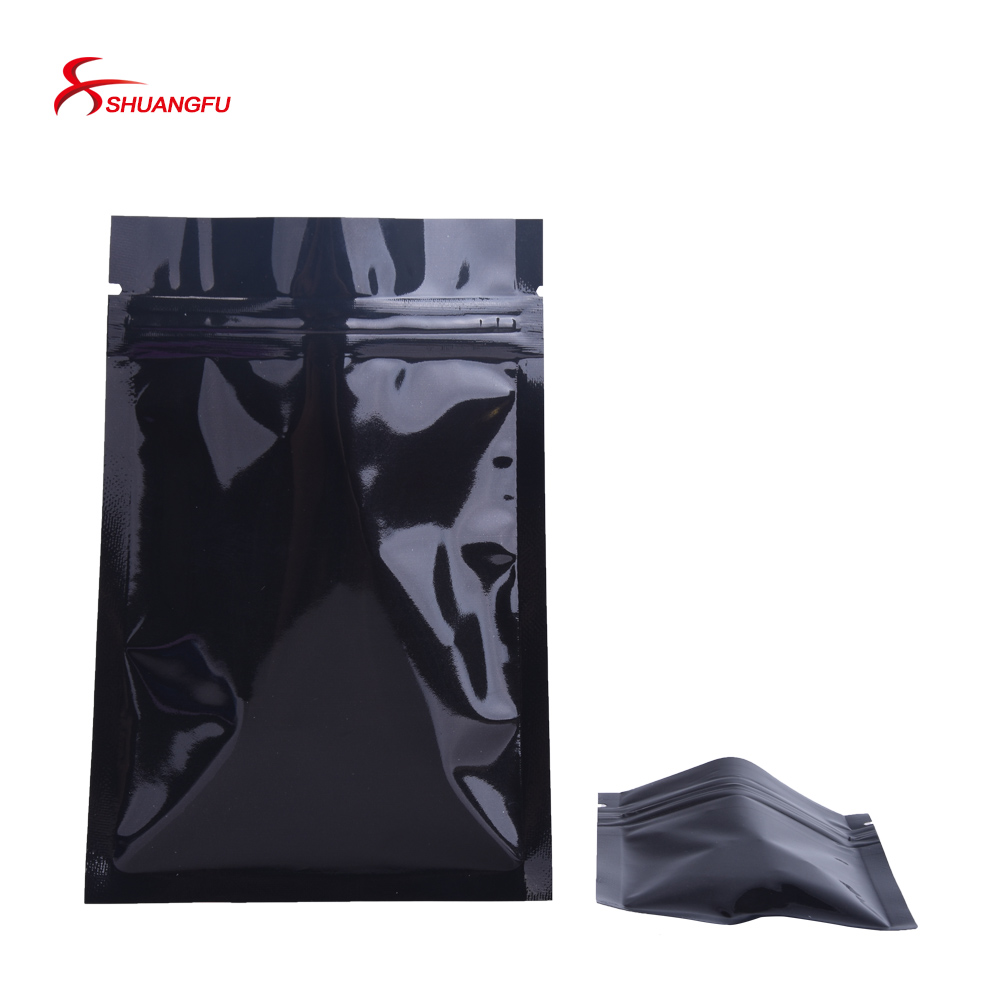 100PCS Custom printed plastic smell proof black ziplock jungle boys  cookies weed packaging mylar bag