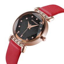 PANARS часы женские 2020 прозрачный драгоценный камень ночное небо циферблат роскошный дизайн кварцевые женские водонепроницаемые часы Беспла...(Китай)