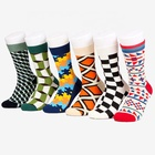 Cotton Sock Man Soft Funny Coloured Men Custom New Design Mens Socks
