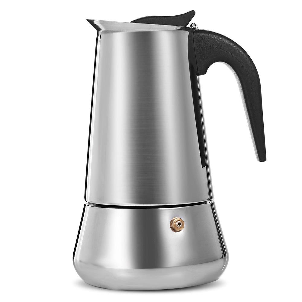 Кофеварка для кофе МОККА из нержавеющей стали, плита для эспрессо, Мока латте, инструменты для перколятора, кофейник, горшок для заваривания...(Китай)