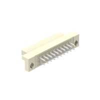 Denentech Hot sales in 2020,2.54mm Pitch Double Row Straight,DIN 41612 Female Connector