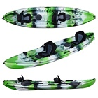Hot Deal [ Tourism ] Kayaks 2 Person Wholesale 2 1 Sit On Top 3 Person Family Kayak For Fishing And Tourism