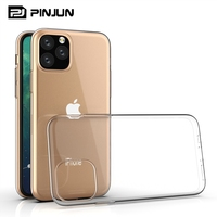 Slim smooth crystal clear tpu gel case for iphone x to 11 case cover ultra thin,for iphone x 11pro ultra-thin drop back cover