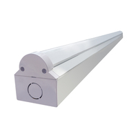 4ft 5ft 28w 38w 55w 60w led batten light fixture to replace fluorescent lamps