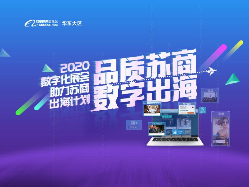 品质苏商,数字出海,2020江苏省数字外贸云峰会