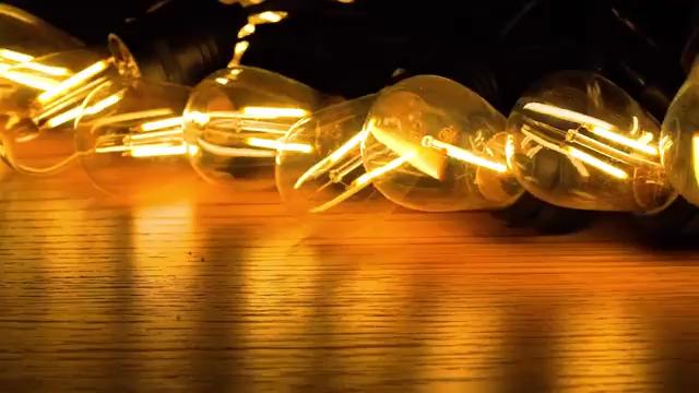 ไฟสายคล้องกลางแจ้ง48FTชนิดE26 E27 S14,ไฟเอดิสันแบบคริสต์มาสกันน้ำได้