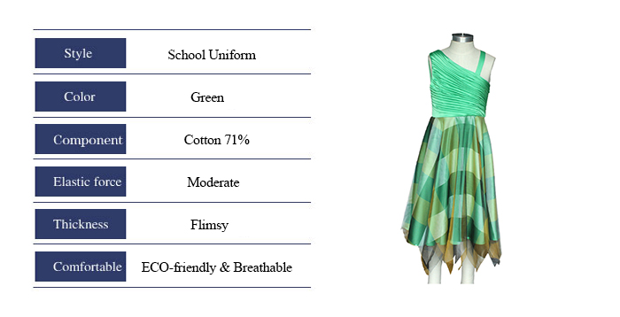 Attractive Summer Girls Pinafore School Uniform Dress Party Dress Casual Wear Graduation Ceremony