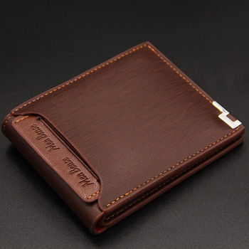 Men Stylish Business Leather Wallet Card Holder Coin Wallet Purse luxury men wallet famous brand credit card holders