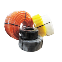 WZUMER PE Plastic flexible pipe corrugated hose electric wire protect pipe for the equipment