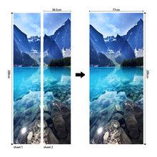 3D европейские наклейки на двери, водонепроницаемые обои из ПВХ для дверей, гостиной, спальни, домашний декор, Настенная Наклейка для ремонта...(Китай)