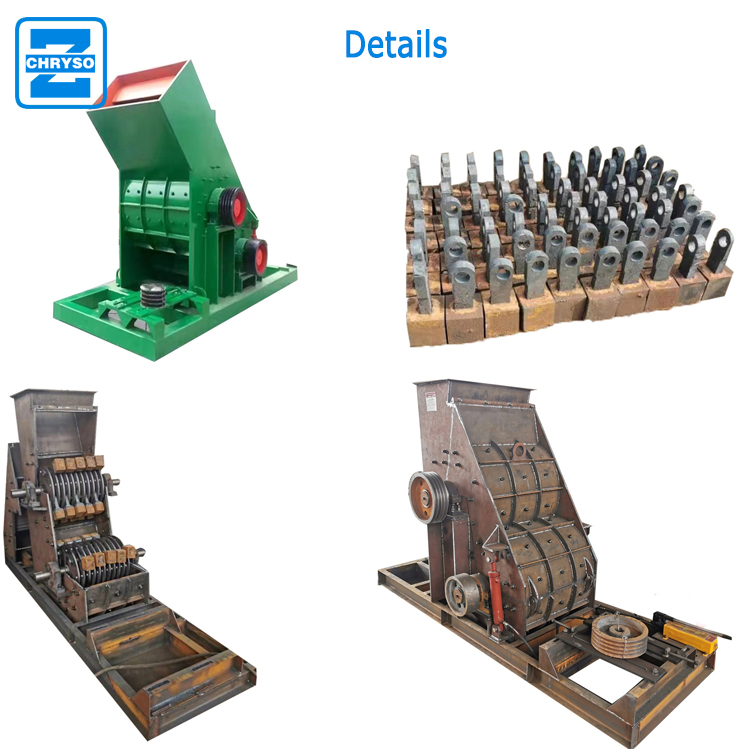 Widely used double stage hammer mill crushing machine with factory price