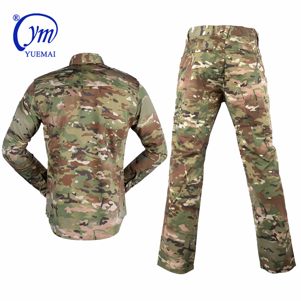 Ready for ship in stock Customized uniform military camouflage oem wholesale CP camouflage color security guard uniforms