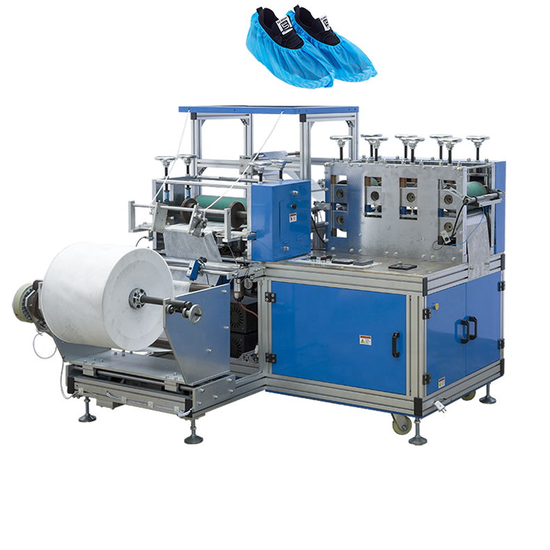 Top quality hot seller nonwoven PE Plastic Disposable Shoes Cover Making Machine