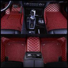 ZHOUSHENGLEE пользовательские автомобильные коврики для Mercedes Benz все модели A160 180 B200 c200 c300 E class GLA GLE S500 GLK автомобильные аксессуары(Китай)