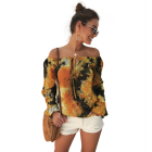 Designs Blouses Blouse Beach Off Shoulder Boho Designs Ladies Tops Summer Blouses Blouse Crop Top T Shirt