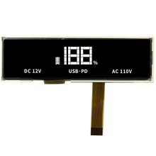 Doorlatende Negatieve <span class=keywords><strong>TN</strong></span> Custom Size 7 Segment <span class=keywords><strong>LCD</strong></span> Display