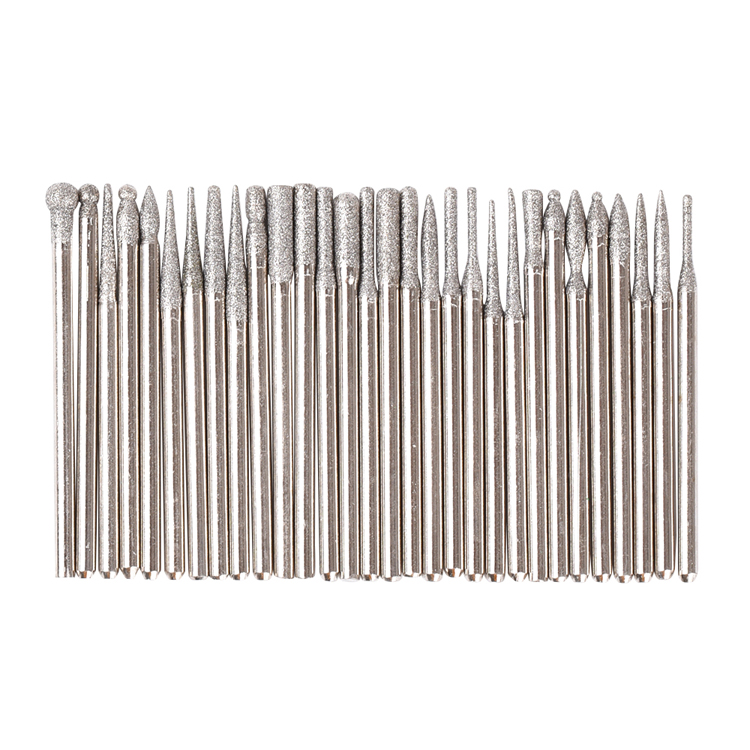 30pcs/set nail drill bit parts manicure cuticle safety nail drill bit set carbide electric hardmetal nail drill bits